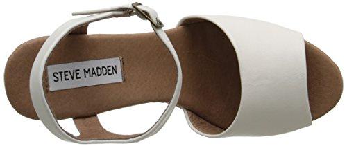 Steve Madden Korkey Pelle sintetica Sandalo con la Zeppa