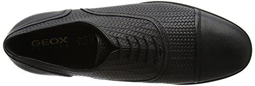 De black Negro Geox Zapatos C U Para Cordones Oxford Bryceton Hombre vppqOI