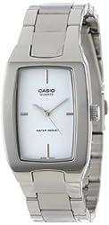 Casio Men's MTP1165A-7C Silver-Tone Analog Bracelet Watch