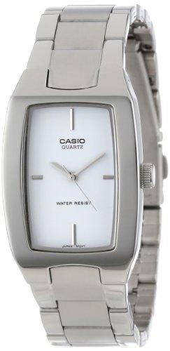 (Casio Men's MTP1165A-7C Silver-Tone Analog Bracelet Watch)