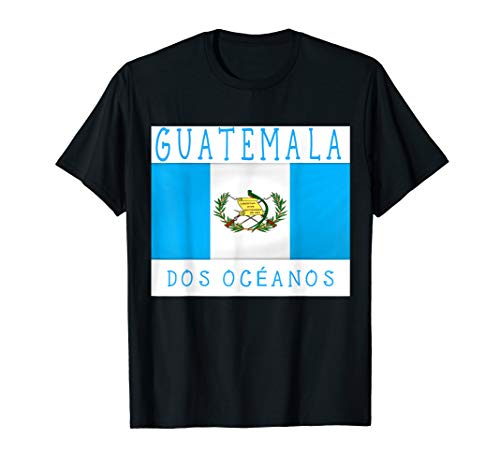 Guatemala Blue Flag Men Women Kids De Guatemala Gift T-Shirt T-Shirt