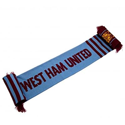 Official Football Team Wordmark Scarf West Ham United