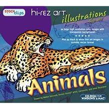 Hi-Rez Illustrations: Animals