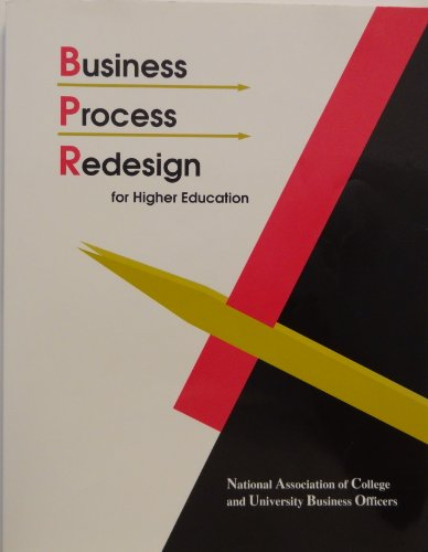 Business Process Redesign for Higher Education