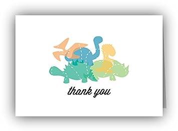 Amazon playful dinosaurs thank you cards 24 cards playful dinosaurs thank you cards 24 cards envelopes altavistaventures Image collections