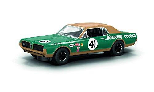 Scalextric 1967 Mercury Cougar XR7 Alan Moffat Racing Slot Car (1:32 Scale)