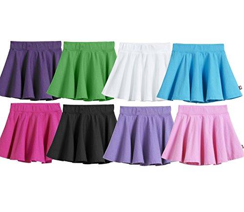 City Threads Girls 100/% Cotton Twirly Skirt Skater Circle Skirt School or Play