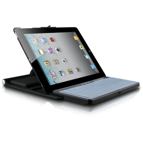 Naztech All-in-One Bluetooth Keyboard and Protective Case for Apple iPad 2