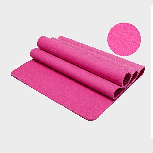 183 * 122cm Double Sports And Fitness Maquillage de yoga Mat de danse Crawling Mat Couleur En option