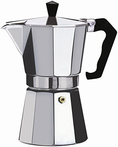 Wee s Beyond 7526-06 Brew-Fresh Aluminum Espresso Maker, 6 Cup, Silver by Wee s Beyond