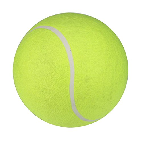 Pet Chew Toy - Elevin(TM)Toy for Pet Dog - 24CM Giant Tennis Ball for Pet ChewToy Big Inflatable Supplies Outdoor Training Toys (Green)