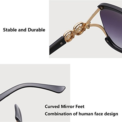 amp; Qualité Bonne Eyeglasses Perfect Fit Women Case Girls Sunglasses Storage for Ladies Oversized Fashion Black Zhuhaitf Y5dqwXY