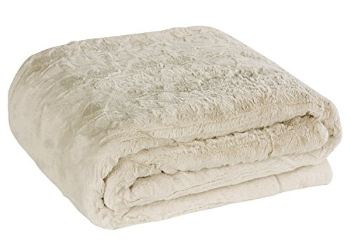 Brielle Oversized Throw Goose Ivory