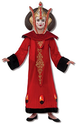 Star Wars Deluxe Queen Amidala Child Costumes - Rubie's Star Wars Deluxe Queen Amidala