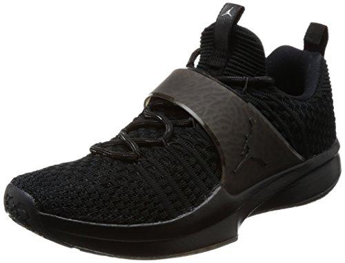 Nike kleuren Racetrait Jordan schoenen zwart zilver voor 2 Gymnastics heren metallic w7rRAqw