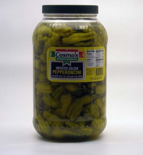 Cosmo's Pepperoncini, 128 Ounce