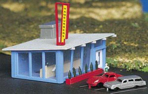 Hamburger Stand (Bachmann Drive-In Hamburger Stand - N Scale)