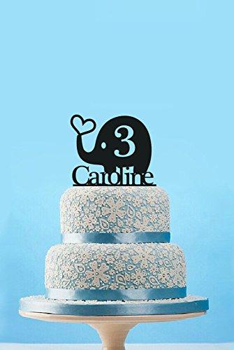 Amazon.com: Adorno para tartas de cumpleaños para bebé ...