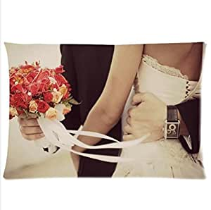 Best Seller Pillowcase,The Interpretation Of Love-Weddings Pillowcase,One Side Pillowcase Pillow Cover 20x30 inches