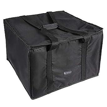 Amazon.com: Cherrboll Bolsa de entrega de pizza aislada, 7.9 ...