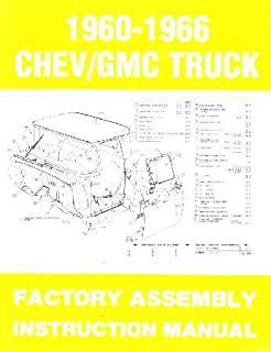 amazon com 1966 chevy pickup truck shop service repair manual book rh amazon com 1966 chevy truck manual transmission 1966 chevy truck owners manual