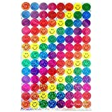 800 FUN REWARD STICKERS CREATIVE BRIGHT COLOURFUL SPARKLY CHART SIZE COLLECTING SMILEY STICKERS BY WISH LIST FOR YOU