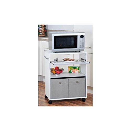 AC-Déco - Armario para microondas con ruedas y bandeja ...