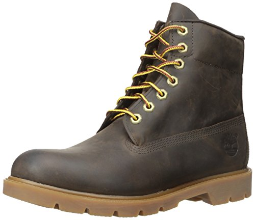Timberland Men's Six-Inch Basic Boot, Brown Connection WP, 9 M US ()
