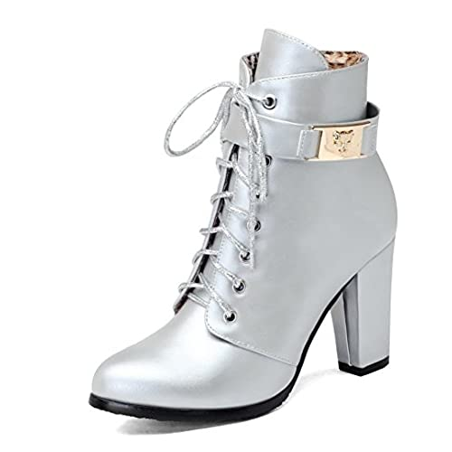 Women's Soft Material Zipper Pointed Closed Toe High-Heels Low-top Boots