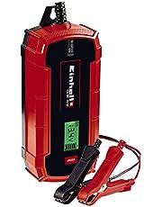 Einhell CE-BC 10 M Acculader, Intelligente Acculader, Max. 10 Ampère Laadstroom, Rood/Zwart