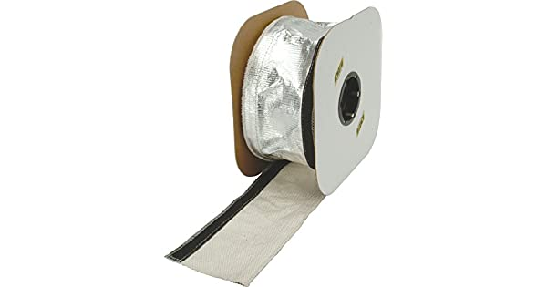 "1.25/"" x 3/' Heat Shroud Reflective Hose//Wire Protection Sleeve DEI 010405 0.5/"""