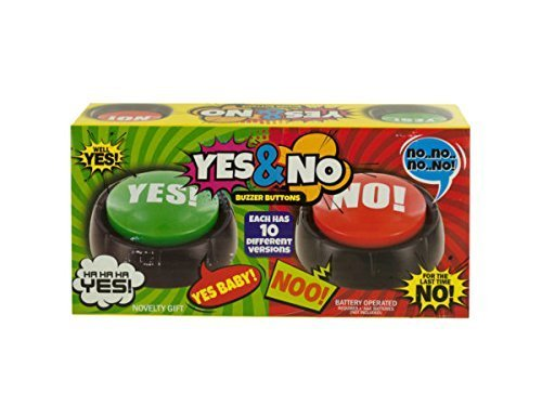 Talking Yes & No Buzzer Buttons - Pack of ()