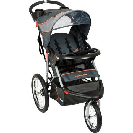 Baby Trend - Jogging Stroller, Vanguard - Safari Swivel Wheel Single