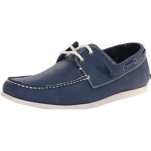 Madden Men's M-Gameon Boat Shoe,Blue,9 M US