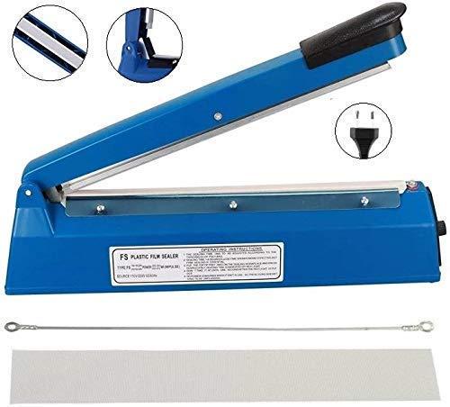 OSFT 8 inch Package Sealing Machine Plastic Vacuum Tool Heat Hand Sealer (8 Inch, Blue) 1