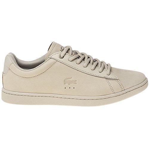 Lacoste Carnaby Evo Damen Sneaker Neutral Neutral