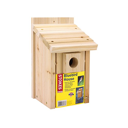 Stokes Select Bluebird Nesting House, Natural Wood