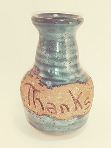 Aunt Chris' Pottery - Hand Made Clay - Message Bottle - A Word