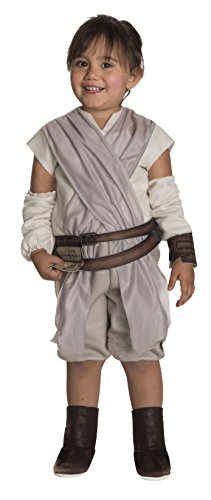 Rubie's Costume Girls Star Wars VII: The Force Awakens Rey Costume, Multicolor, 2T]()