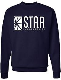 Star Laboratories Star Labs Sweatshirt Sweater Crew Neck Pullover - Premium Quality