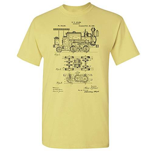 Locomotive T-Shirt, Train Conductor, Engineer Gift, Train