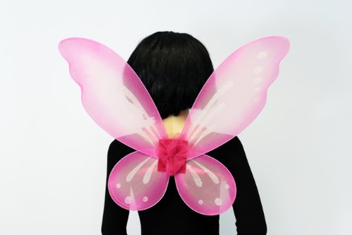 Pink Fairy Wings (Adult) (Pink Butterfly Adult Wings)