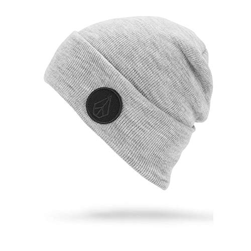 Volcom Women's Hope Classic Fit Snow Beanie, Heather Grey, One Size