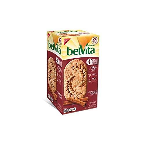 An Item of belVita Brown Sugar Cinnamon Biscuits (1.76 oz. per pk, 20 pks.) - Pack of 2 ()