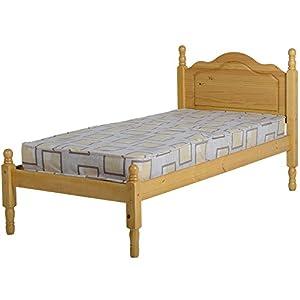 seconique sol pine single bed frame