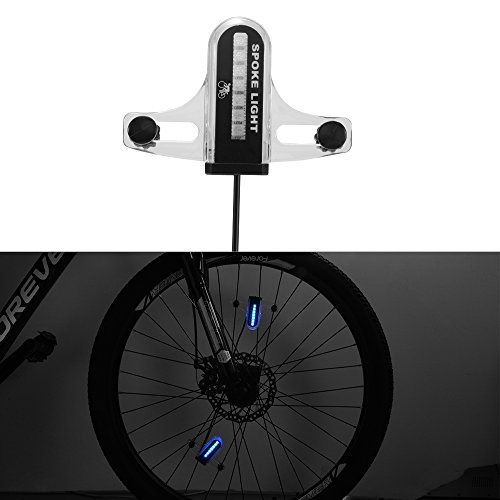 XCSOURCE Colorful Bike Wheel Light 30 Patterns Dual-Side 14 LEDs Bicycle Cycling Wheel Tire Spoke Lamp Safety Warning Light CS625 by XCSOURCE (Image #7)
