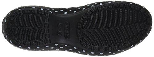 Crocs Women's Kadminnslngbckw Ballet Flat Black 8m8rxFf