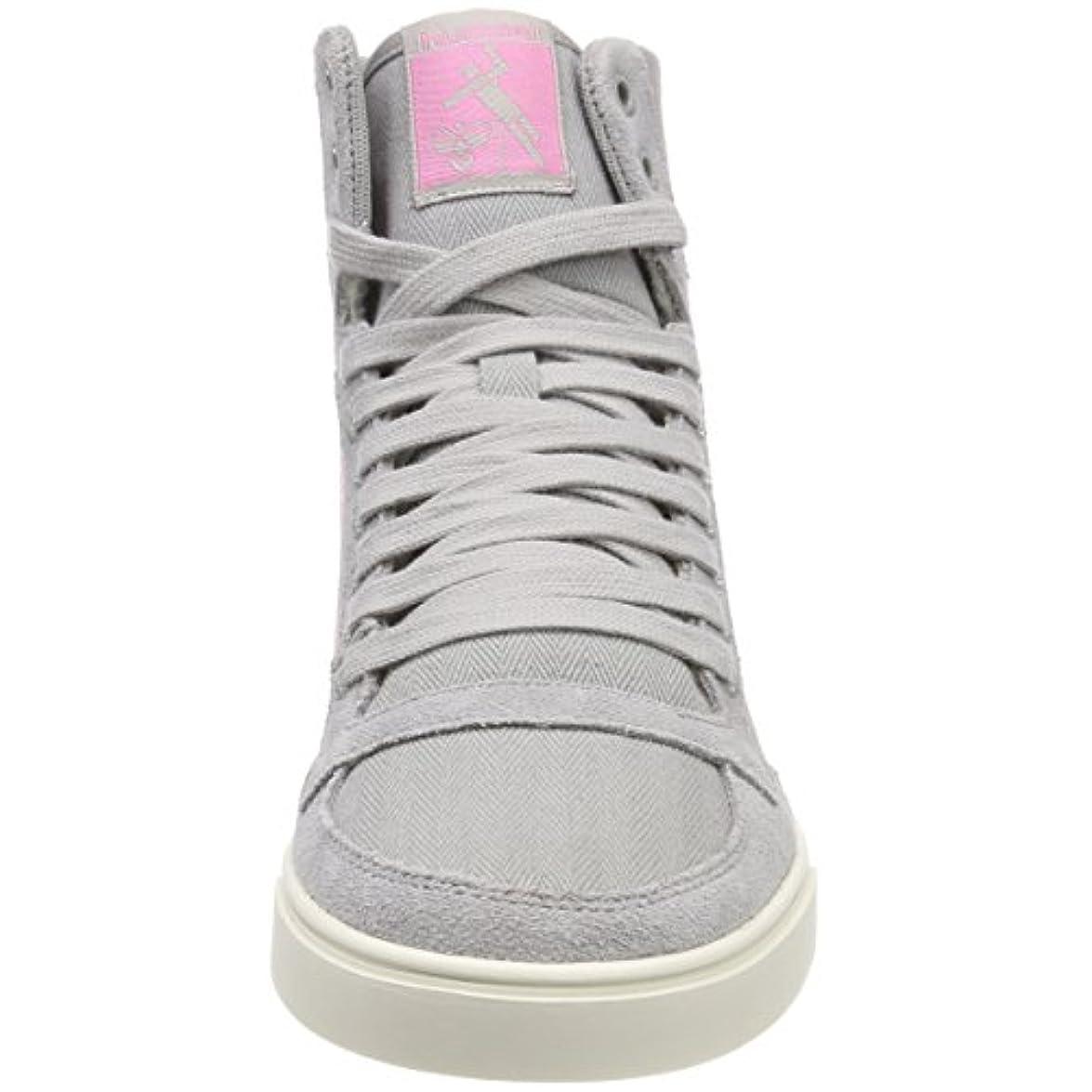 Hummel Slimmer Stadil Hb High Sneaker A Collo Alto Donna Grigio alloy 37 Eu