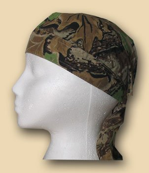(Flagline Tree Leaf - Camo EZDanna Headwrap )
