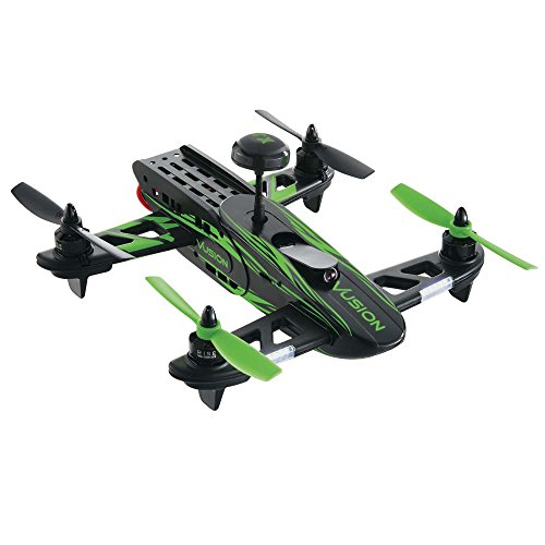 RISE Vusion 250 Racer Fpv-R Radio Control RC Electric Racing Drone Quadcopter, 200mW